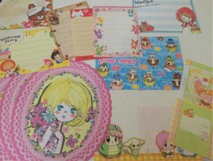 Small Mini Kawaii Memo Sheets