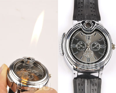 GREAT GIFT  New It's A Watch & A Cigarette Lighter