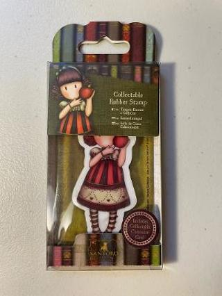 Gorjuss Girl Collectable Rubber Stamp