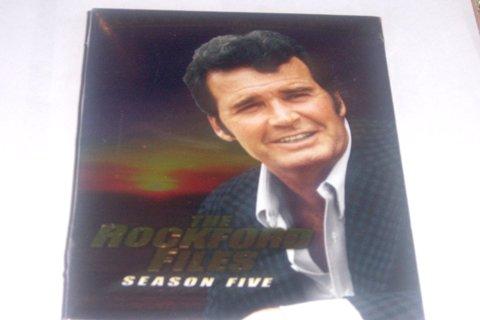 THE ROCKFORD FILES - SEASON 5 DVD SET- NEW