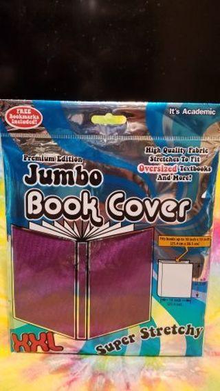 NIP XXL JUMBO BOOK COVER IN PURPLE