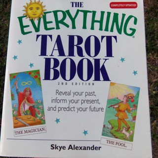 THE EVERYTHING TAROT BOOK ☽✪☾ Divination Wicca Witchcraft Magick Pagan Witch ☽✪☾ FREE SHIPPING