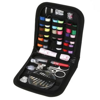 70Pcs/set Sewing Box Kit Travelling Quilting Stitching Embroidery Sewing Needle Craft Sewing
