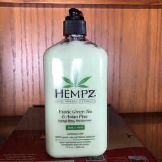 Hempz Exotic Green Tea & Asian Pear Lotion