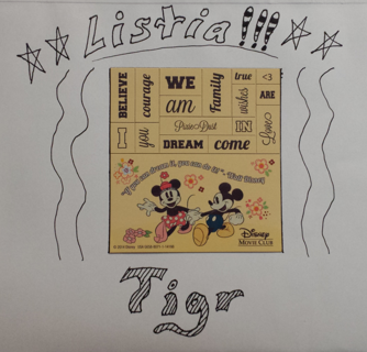 ☆☆DISNEY - MICKEY & MINNIE ☆☆ ♥ MAKE YOUR OWN PHRASE MAGNETS ♥