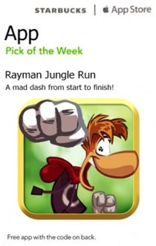 Rayman Jungle Run App -A Mad Dash- Mac, PC, iPhone, iPad, iPod Touch code e-mailed