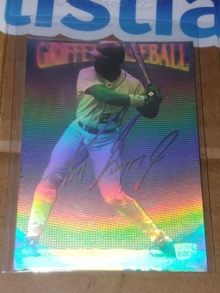 """THE KID"" KEN GRIFFEY JR⭐SEATTLE MARINERS⭐1992 LIME ROCK⭐HOLOGRAM⭐FREE $HIPPING"