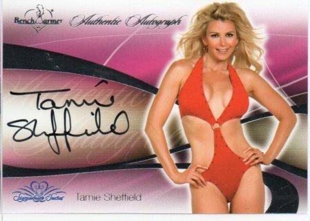 2008 Benchwarmer Tamie Sheffield Autograph