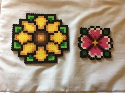 Flower Perler Beads