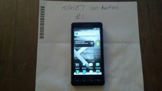 Droid X with otterbox case