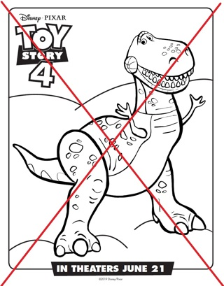 Disney Pixar Toy Story Coloring Pages # 2