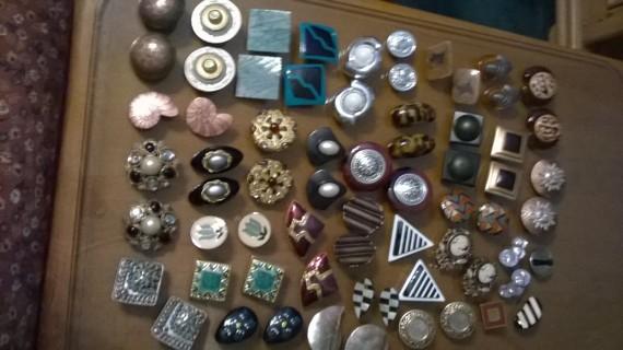 Huge Lot of Vintage Clip-on Earrings