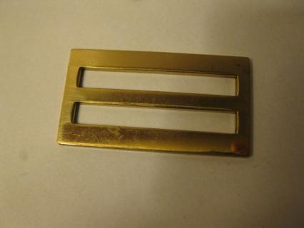 vintage Brass Sliding Belt Buckle - Serial no. 528