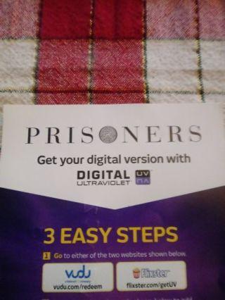 Prisoners VUDU Code