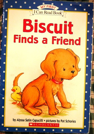"""""""Biscuit finds a Friend"""", My first 'I can Read Book'"""