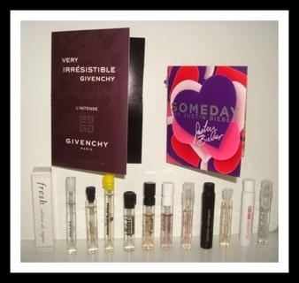 Free Huge Lot Of 14 New Sephora Perfume Samples Gucci Prada More