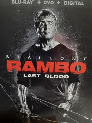RAMBO LAST BLOOD (( 2019   RELEASE))