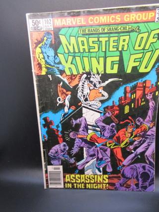 MASTER OF KUNG FU #102