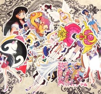 Kawaii Sailor Moon sticker lot