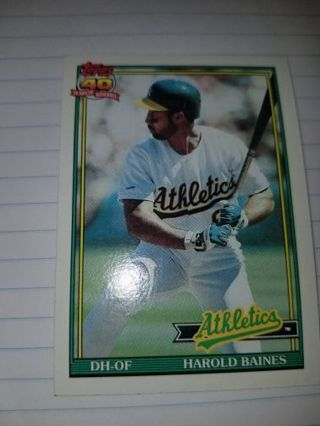 *Topps* 1991 Harold Baines