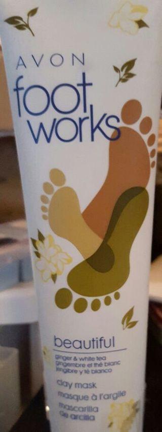 Avon Foot Works NEW! Fabulous! 3.4fl..ozs