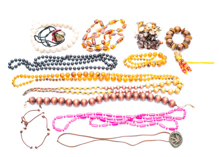 AND ANOTHER 1+ Pounds of Costume Jewelry Findings Destash DIY!