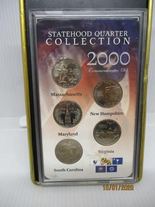 5 2000 STATEHOOD QUARTERS