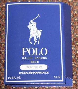 NEW Polo Ralph Lauren Blue Eau De Parfum Spray Sample