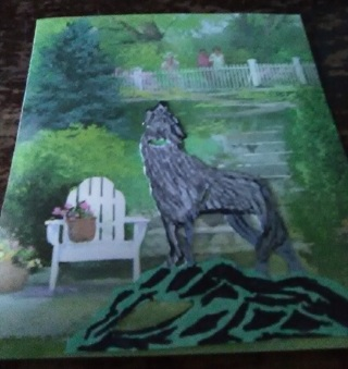 """"""" Lonely, Missing Owner"""" Design Blank Card"""