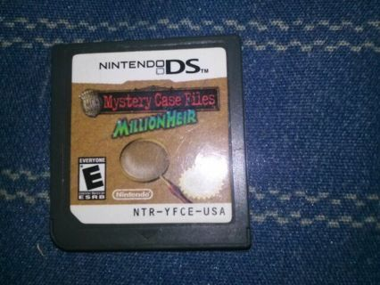 Mystery case files millionaire ds