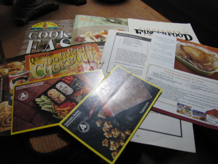 Culinary Booklets, Pamphlets, etc.