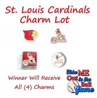 ⚾⚾⚾ St. Louis Cardinals Lot ⚾⚾⚾ Living Locket Charm(s) ☆VERIFIED USERS ONLY PLEASE☆