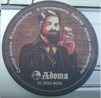 BEER COASTER - CERVEJA ADOMA