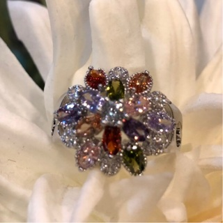 ***RELIST*** 925 Multi Stone Ring