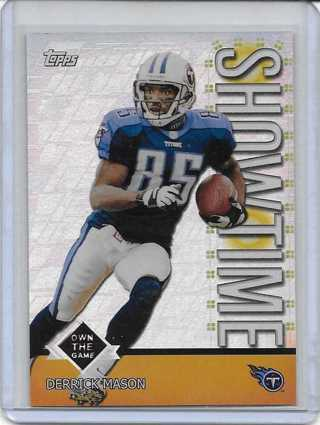 Derrick Mason 2001 Topps Own the Game #TS1