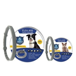 2020 New 8 Month Flea & Tick Prevention Collar for Cats dog Mosquitoes Repellent Collar Insect