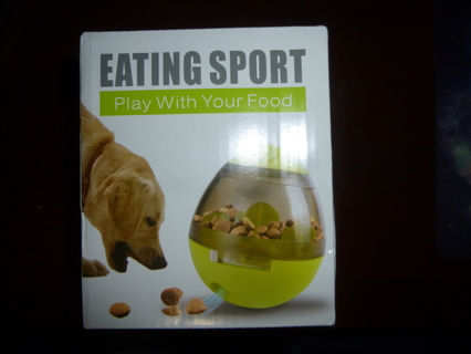 New Pet Food Ball Feeder Design for Dogs Cats