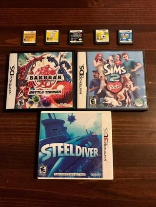8 Nintendo DS/3DS Games