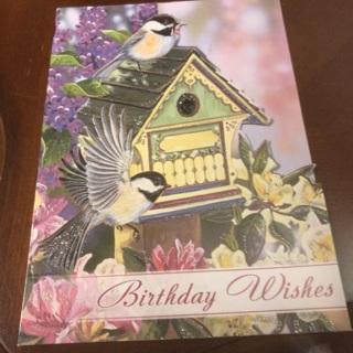 Birthday Card .