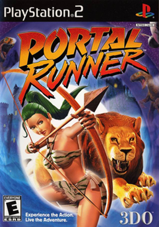 Sony Playstation 2 PS2 3DO Portal Runner Adventure Video Game FREE SHIPPING
