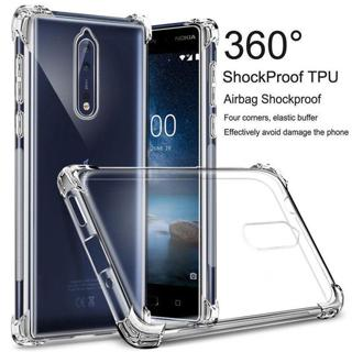 Shockproof Clear Slim Silicone Soft TPU Back Case Cover For Nokia 2 3 5 6 7 8 X6