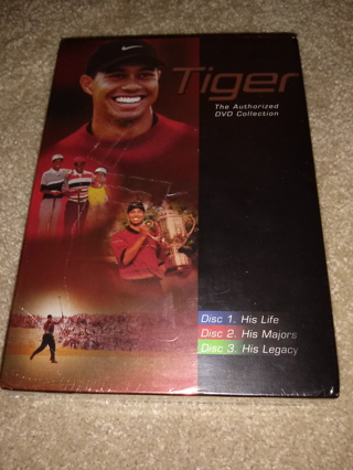New\ Sealed Tiger Woods DVD Collection