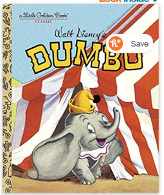 Dumbo (Disney Classic) (Little Golden Book) Hardcover