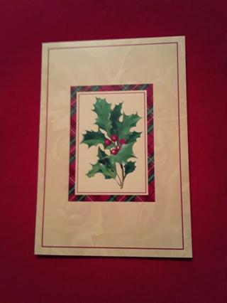 Christmas Cards - Holly