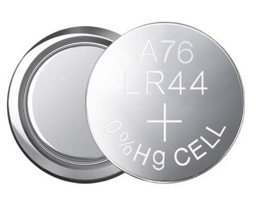 (1) BRAND NEW BATTERY LR44 AG13 A76 1.5V ROUND ALKALINE BUTTON CELL BATTERY
