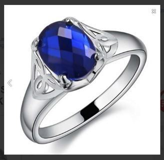 NEW Stunning Sterling Silver Ring Polished .925 FREE SHIPPING