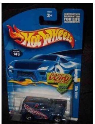 #2002-143 Anglia Panel Blue Thailand Collectible Collector Car Mattel Hot Wheels