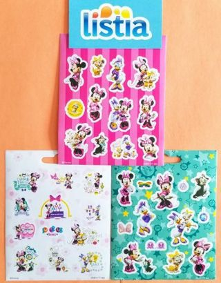 MINNIE MOUSE & friends - STICKERS lot *ShipsFREE in US*