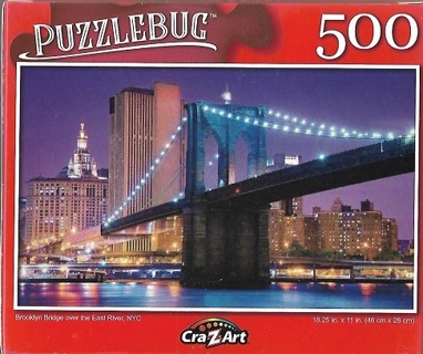 Jigsaw puzzle- Brooklyn Bridge
