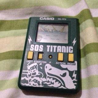 Old Sos Titanic Casio